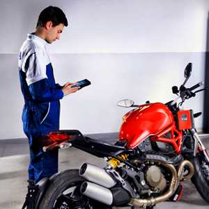 диагностика мотоцикла