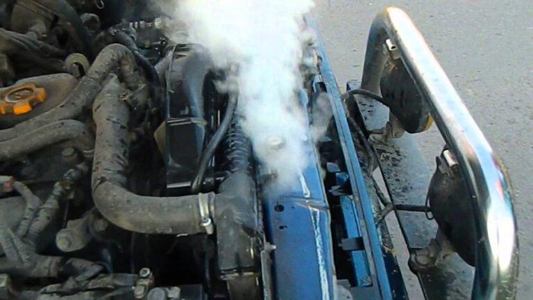 перегрев двигателя автомобиля