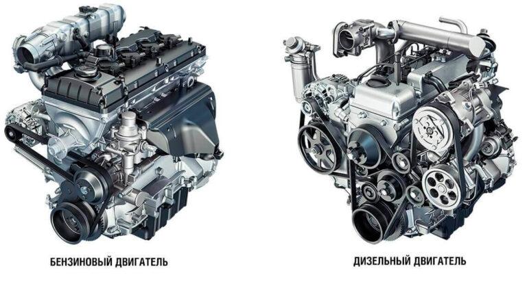 ремонт бензинового и дизельного двигателя